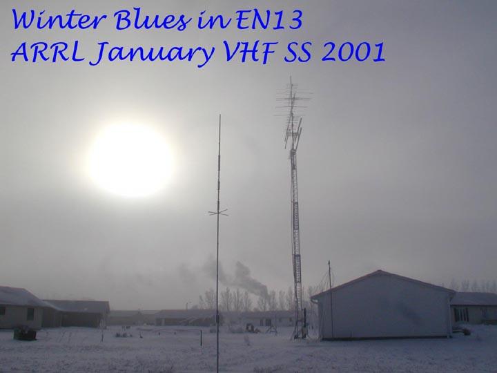 KMØT ARRL January 2001 Contest and Transverter / IF Switch
